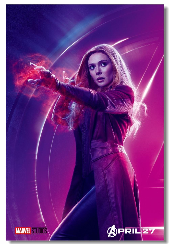 Custom Canvas Wall Decor Avengers Infinity War Poster