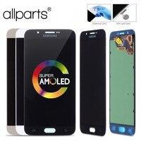 Super AMOLED Оригинальныйтачскриндисплейэкрандля SAMSUNG Galaxy A8 сенсорныйдисплейОригиналLCDстачскриномврамкезаменазапчасти A8000 A800