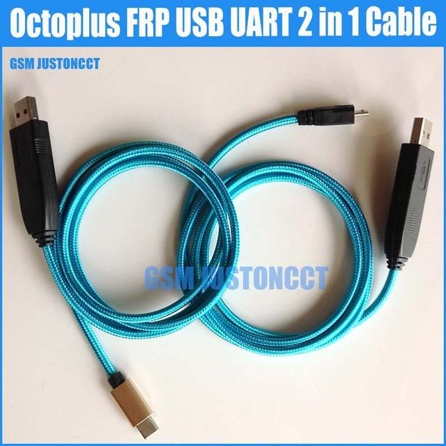 100% рабочий кабель Octplus SAM FRP UART EFT, комплект 2 в 1 (кабель Micro + type C), инструмент, кабель Chimera UART, бесплатная доставка