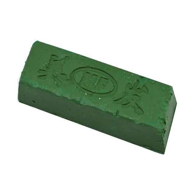 Metal pulido de cera de alta calidad handuse cuchillo afilado sistema pasta de pulir color verde-160g de pasta