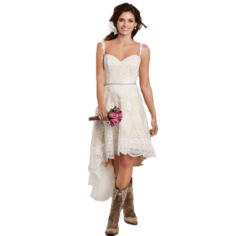 Country Style Short Wedding Ideas