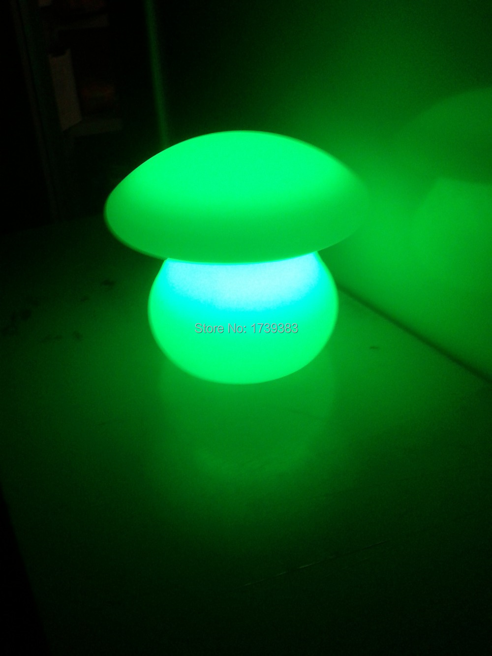 Free shipping Wireless charging waterproof LED Mushroom lamp Glowing Remote control Fungus Umbrella Table lamp LED Desk Light 6pieces dhl free shipping super bright 38leds rgbw remote control waterproof outdoor wireless glowing module led