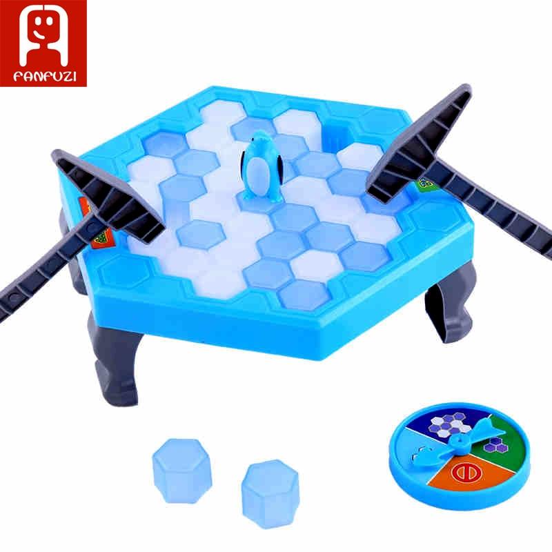 Mini Gioco da tavolo Penguin Trap Pinguino Ghiaccio e neve gioco giocattolo
