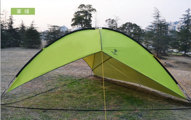 5-8 Person Big size outdoor camping tent, 480x480x480cm waterproof tent for camping, 4.6kg one side shelter in one person