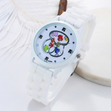 2019 Luxury Brand Bear Silicone Quartz Watch reloj mujer Women Watches  Jelly Casual women wrist Watch Clock Relogio Feminino