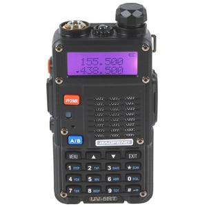 Image 2 - Original 2PCS Baofeng UV 5RT Walkie Talke For Hunting UV 5RT High Power Transceiver Advanced Amateur Dual Band Radio Station