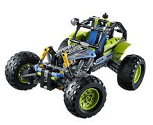LELE Technic City Series 2-in-1 Formula Off-Roader Car Building Blocks Bricks Model Kids Toys Marvel Compatible Legoe
