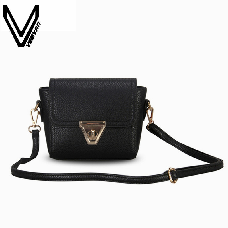 VEEVANV New Designer Women Messenger Bag Female Leather Shoulder Bags Girls Crossbody Bag Ladies Handbag Small Clutch Purse Mini dachshund dog design girls small shoulder bags women creative casual clutch lattice cloth coin purse cute phone messenger bag