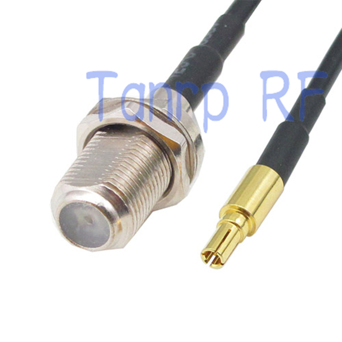 50CM Pigtail coaxial jumper cable RG174 extension cord 20in CRC9 male plug to F female jack RF connector adapter 12in tv male plug to mcx female jack rf adapter connector 30cm pigtail coaxial jumper extension cord cable rg316