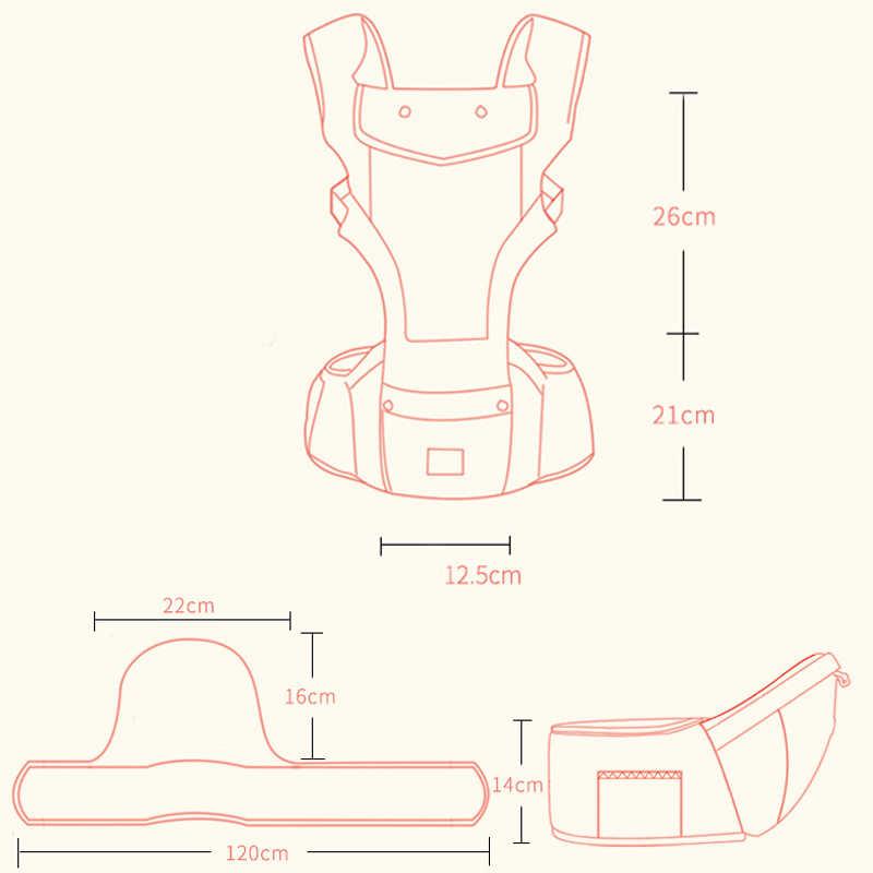 Transportador de bebé ergonómico mochila Porta del abrigo recién nacido y prevenir o patas tipo sling bebé canguros