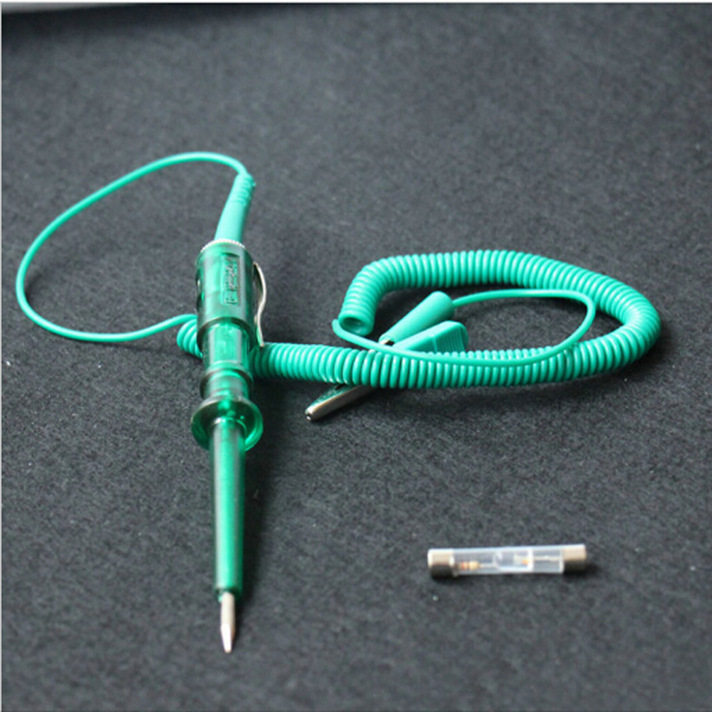 2017 New DC 6V-24V 12V Auto Electrical Test Detection Pencil Circuit Voltage Tester Pen For Car Truck Motorcycle Repair Tool  цены