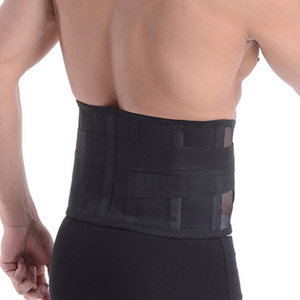 Image 3 - Medical Lower Back Brace Waist Belt Spine Support Pain Relief Breathable Lumbar Corset Orthopedic Back Support Post Corrector