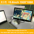 15.6 Inch 1920 * 1080P Type-c USB HDMI Super Thin Portable Screen For PS4 XBOX MAC 60Hz HD LCD Display For PC Laptop