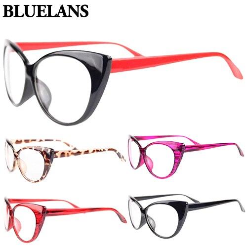 1f71cb3171 Bluelans Women Classic Sexy Vintage Cat Eye Shape Plastic Plain Eye Glasses  Frame Eyewear-in Eyewear Frames from Apparel Accessories on Aliexpress.com  ...