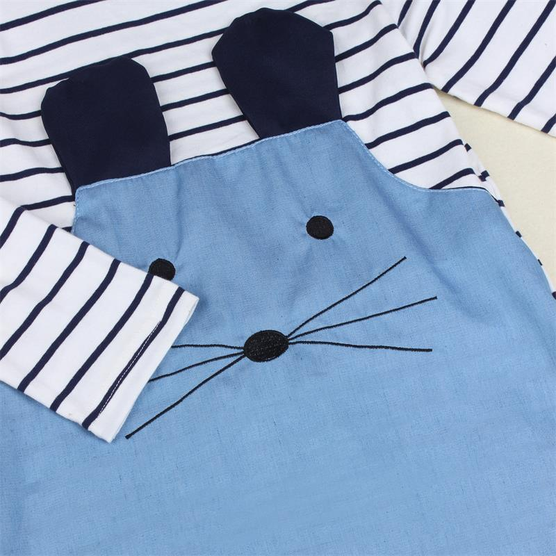 TANGUOANT-Striped-Patchwork-Character-Girl-Dresses-Long-Sleeve-Cute-Mouse-Children-Clothing-Kids-Girls-Dress-Denim-Kids-Clothes-1