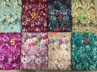 8 colors of sky blue/wine red/dark blue/golden/Peach/Green/rosy/fashionable African embroidery plus upscale glittering sequins