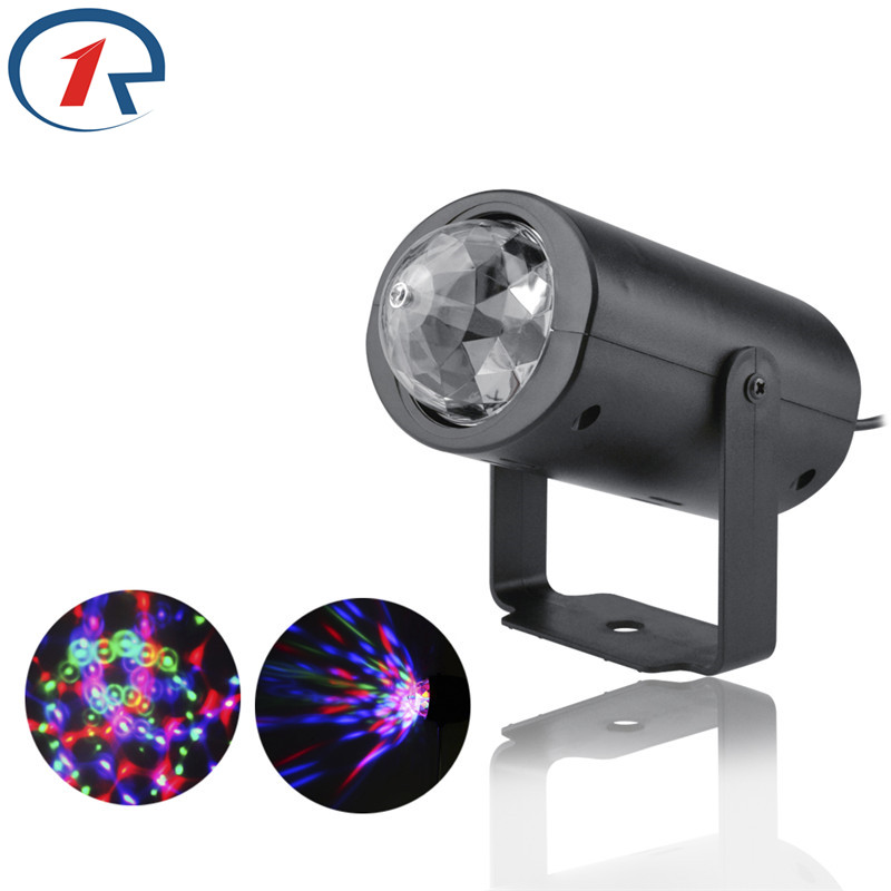 ZjRight led light 4W RGB colorful Auto Projector kids party ktv decorations for home Halloween christmas lights outdoor headlamp ...