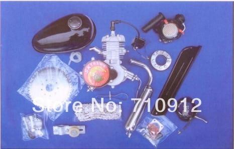 2-тактный 80cc газ велосипед двигателя комплект/Бензиновый двигатель для велосипедов