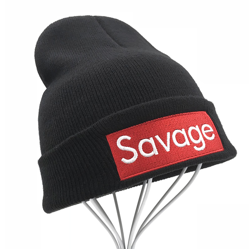 Savage Beanie Hats Cap Winter Hats For Women Men Knitted Girls Winter Brand Hat Female And Male Warm Outdoors Skullies Caps