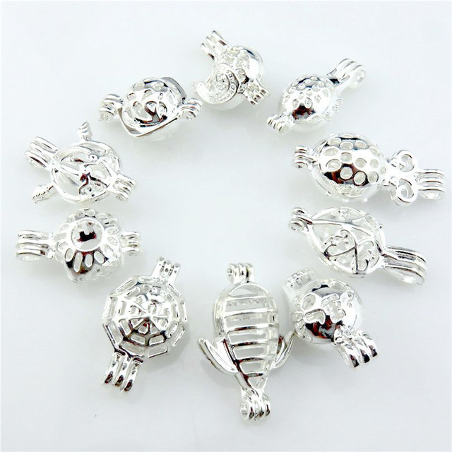 R l21708 bright silver mixed animal spider web sea lion locket r l21708 bright silver mixed animal spider web sea lion locket pendant beads cage essential mozeypictures Image collections