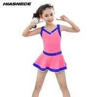 Kids girl teenager one piece swimwear dress solid color sport swimming suit for children Beachwear skirt bathing suit 9 16 years
