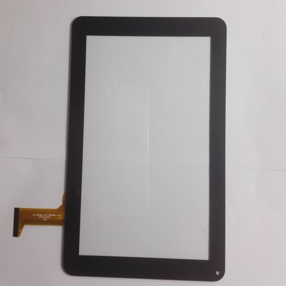 FGHGF 5pcs/lot 9 inch Touch screen Digitizer Tablet DH 0926A1 PG FPC080 V3.0 Touch panel Glass Sensor replacement fix panels new touch screen for 10 1 inch bdf tablet dh 1071a1 pg fpc232 touch panel digitizer glass sensor replacement free ship