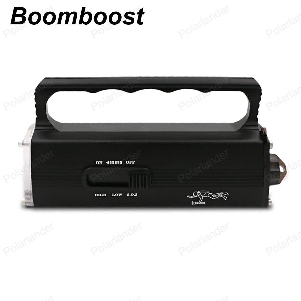 Boomboost Light Water Diving Hand Lamp Waterproof Lighting Flashlight LED light waterproof Super Lighting LED Flashlight