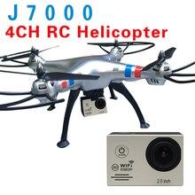 Date Action Caméra WiFi 1080 P Full HD 2.0 LCD HD 30 m l'eau extreme go pro avec 4CH RC Quadcopter Hélicoptère Professionnel Dron