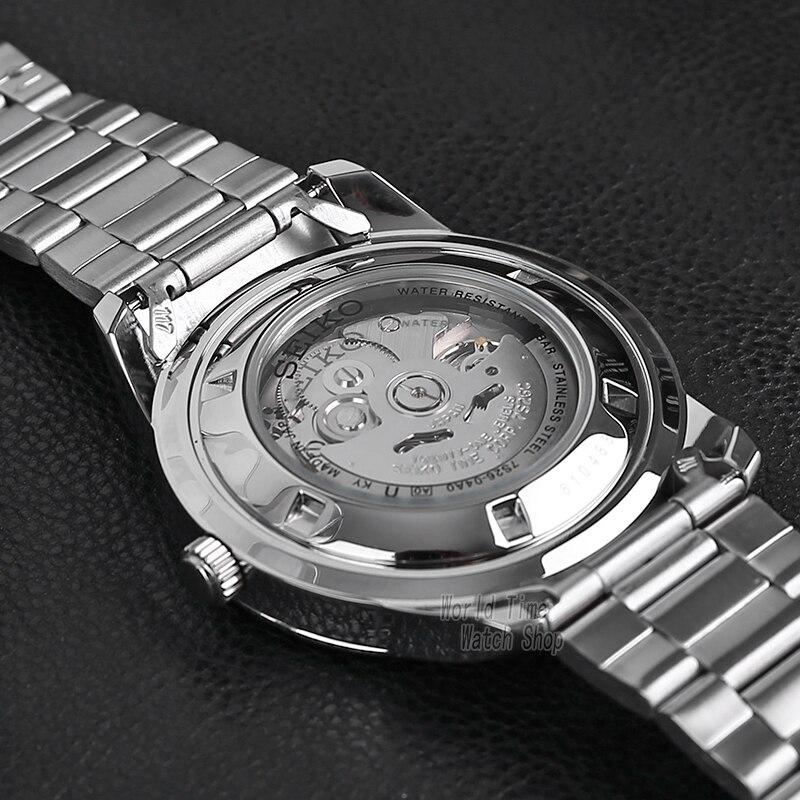 Image 3 - seiko watch men 5 automatic watch top Luxury Brand Sport men watch set men watch waterproof watch relogio masculino SNZG15J1-in Sports Watches from Watches