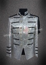 Sequin font b Jacket b font Men Tuxedo font b Jacket b font Costume For Men