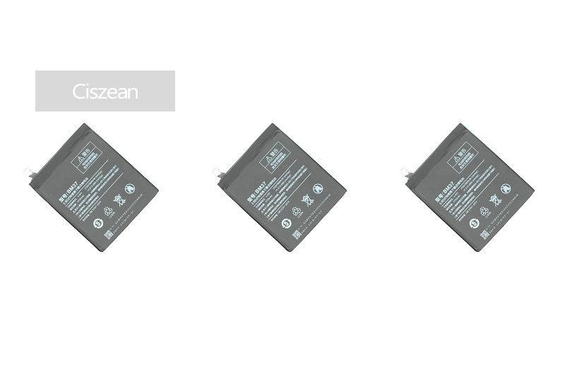 Ciszean Cell-Phone-Battery Xiao Mi Smart 3700mah 5s-Plus For Mi5s Plus-X-3pcs BM37 Mobile
