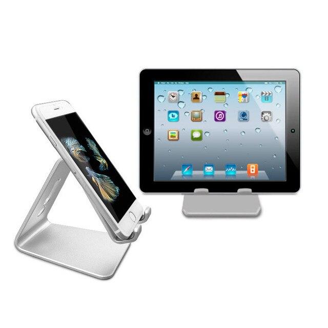 De aluminio de Carga Del Cargador Del Muelle Del Soporte para Android Tablet PC Tab Pad para iphone 7 7 plus para apple ipad 4/ipad air 2/ipad mini 2