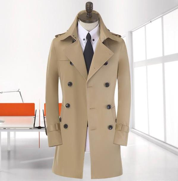Compare Prices on Cheap Trench Coats for Men- Online Shopping/Buy ...