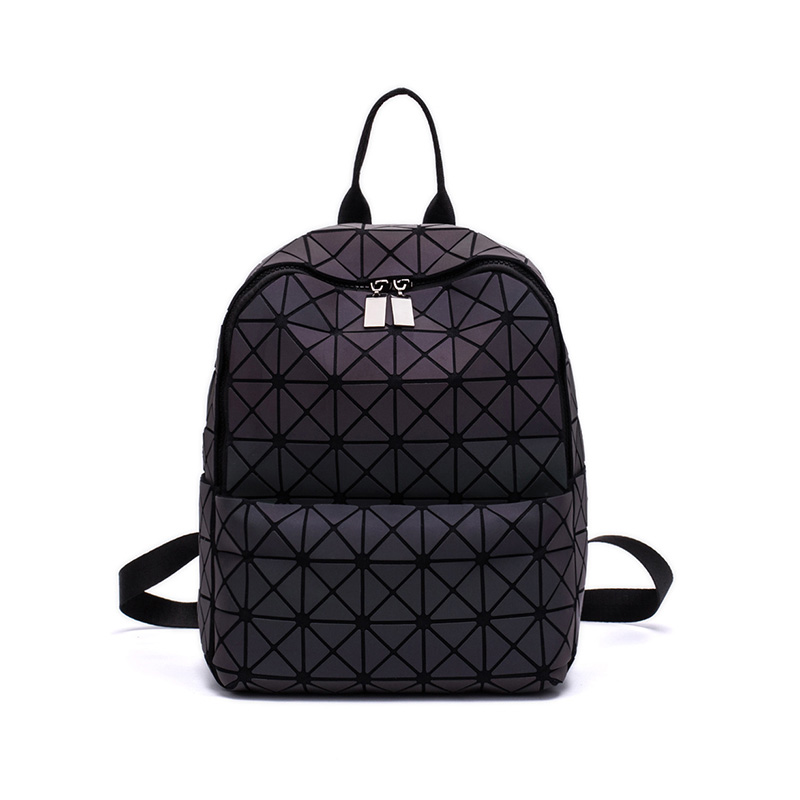 Diamond Backpack 2018 Fashion Luminous Backpack Women Geometric Back Bags Female Bckpack School Bag Girl Mochila чехол накладка pulsar clipcase pc soft touch для microsoft lumia 640 оранжевая