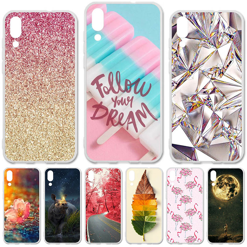 TAOYUNXI Soft TPU Case For UMIDIGI One Max Cases For UMI DIGI one max 6.3 inch Flexible DIY Painted Protective Silicone Covers