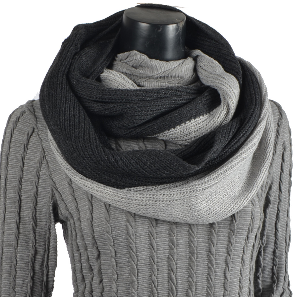travel knit loop mens oversize men s outdoorsgift il bulky outdoors snood grey p wool scarf circle fullxfull hand chunky gift infinity