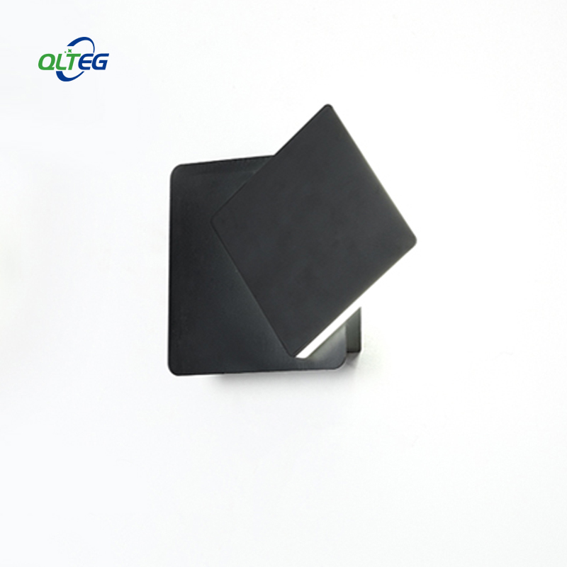 QLTEG 2pcs LED Wall Lamp 360 degree rotation adjustable bedside light 4000K Black creative wall lamp