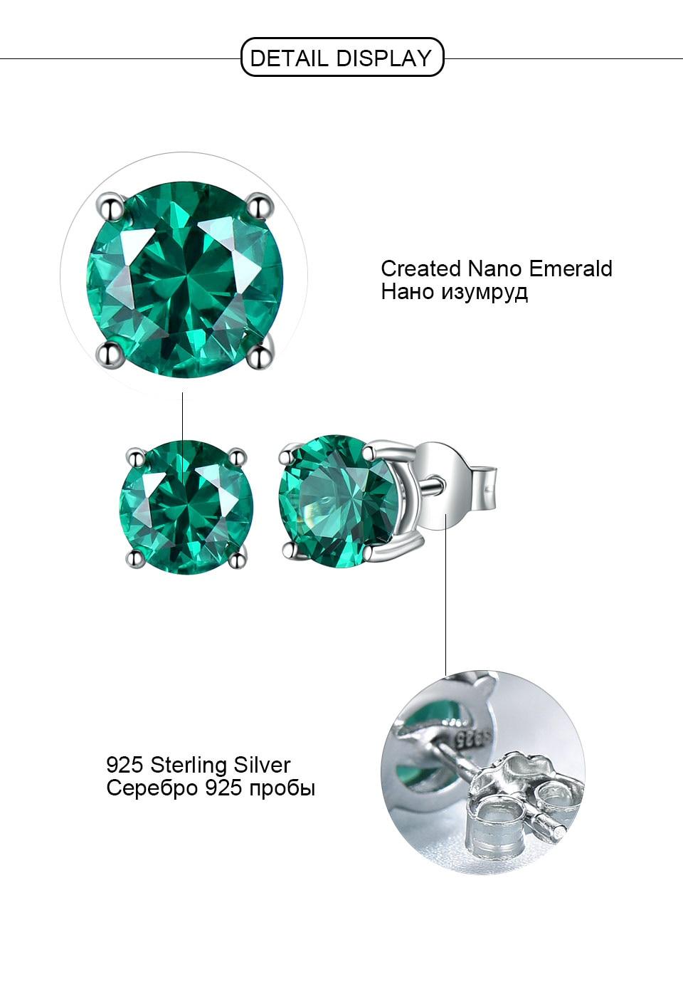 Honyy-Emerald-925-sterling-silver-stud-earrings-for-women-EUJ002E-1-PC_05