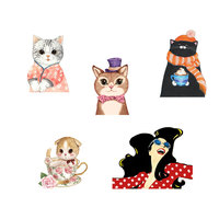 1 PCS Kawaii Animals Badges for Clothing Brooch Acrylic Badges Icons on The Backpack Decoration Badge Pin Icon
