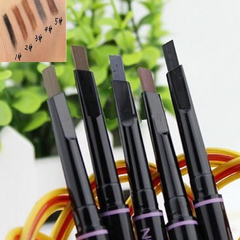 Brand-makeup-eyebrow-automatic-pencil-makeup-5-style-paint-for-the-eyebrow-pencil-cosmetics-brow-eye