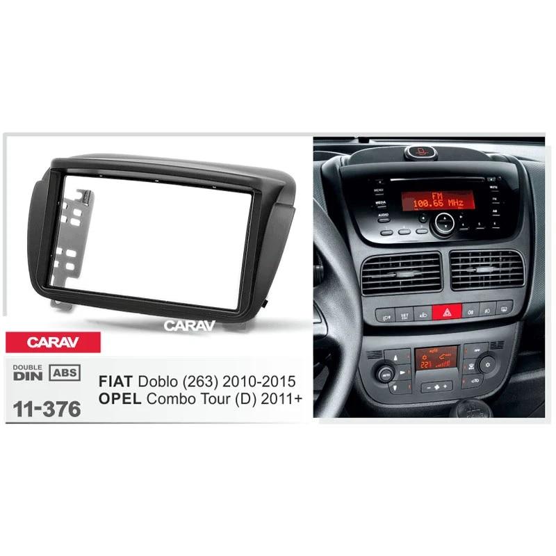 CARAV 11-188 Autoradio Einbau Radioblende für ALFA ROMEO 147 GT 2-DIN