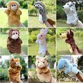 Mano de las Marionetas de Peluche Marionetas de Elefanta Ratón Gato Mono de Peluche Muñeca de Los Niños Juguetes Educativos Brinquedo Marionetes Fantoche