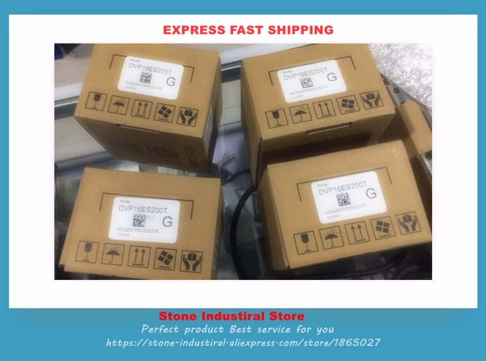 DVP16ES200T New Original ES2 series 100-240VAC 8DI 8DO PLC * 1pcs in Box twdlcae40drf plc cpu 100 240vac 24di 16do new 40 point built in ethernet 100% new