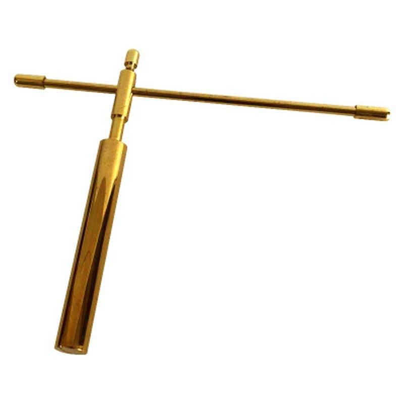 pendulum Pure copper folding dragon feet measuring rod water pulse divination compass compass measuring wind water dragon