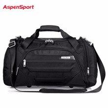 AspenSport 2017 Mannen Waterdichte Weekend Tassen Reizen Bagage Nylon Plunjezakken Reis Handtas Grote Tas handbagage hand tas