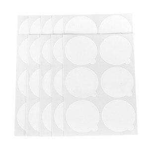 60 шт., клей для наращивания ресниц, держатель для ресниц 5 см, одноразовый водонепроницаемый стикер, паллетная бумага для индивидуальной подставки, Нефритовый камень