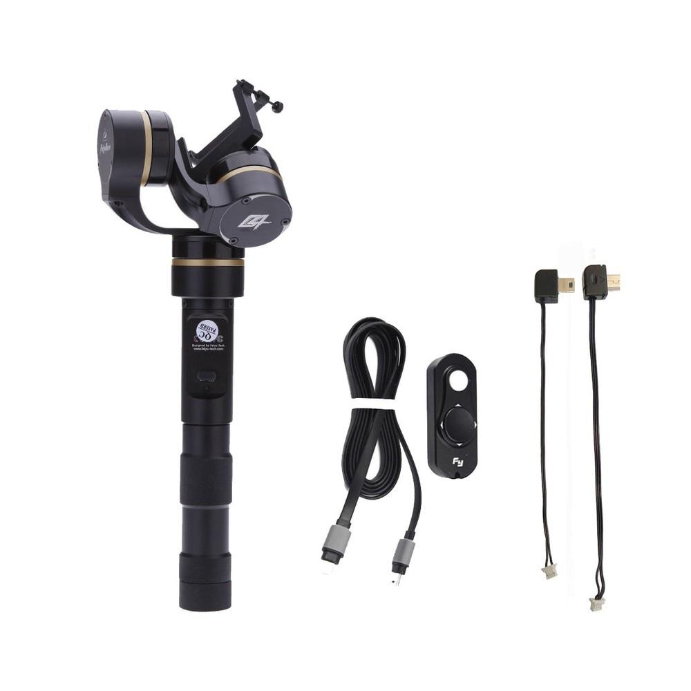 FeiYu FY-G4 3 Axis Handheld Gimbal Brushless Steadycam for Gopro Hero 3 3+ 4 instock alexmos 32bits controller dys magic handheld gimbal for gopro 3 3 4 pk feiyu g4 3 axle gimbal