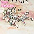 Новый 50 шт. 6 мм чешское Хрустальное стекло, круглые свободные бусины для изготовления ювелирных изделий DIY браслет ожерелье