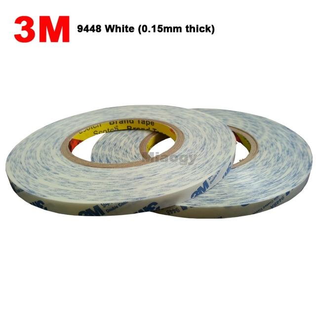 Original 3 M blanco fuerte cinta adhesiva para Samsung iphone ipad teléfono móvil tableta lente de la Cámara pantalla bisel LCD fijo whisky
