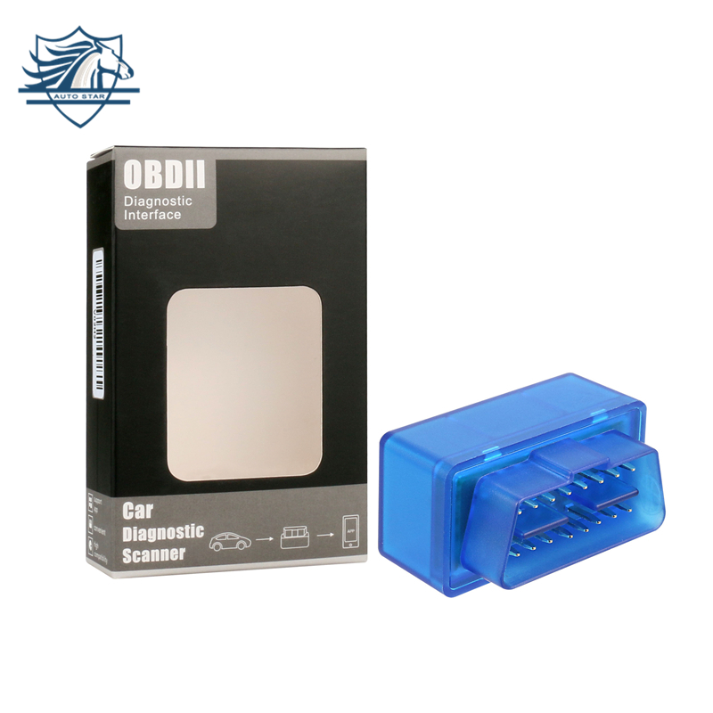 TOP 100% Hardware V1.5 Super MINI ELM327 Software V2.1 Bluetooth 12 Tipi Multi-Langugae OBDII CAN-BUS Funziona SU Android coppia/PC